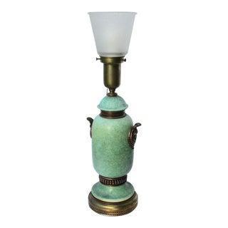 Ceramic Egyptian Cobra Lamp For Sale
