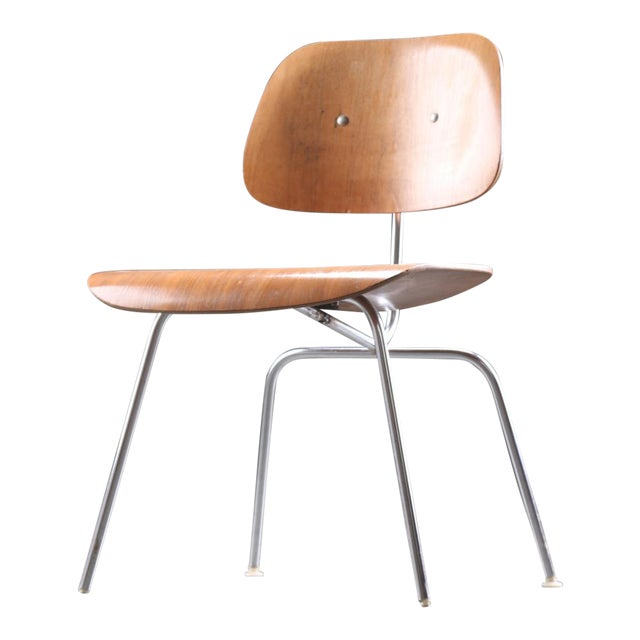 DCM Dining Chair by Charles & Ray Eames for Herman Miller, 1955 For Sale