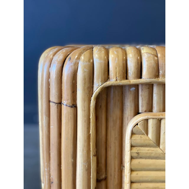 Rattan Nightstand For Sale - Image 11 of 12