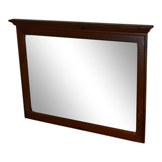 Ethan Allen Country Craftsman Collection Pine Mirror For Sale