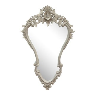Hand Carved Painted Italian Antique Mirror
