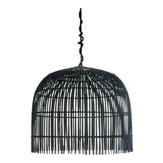 Black Lamp Shade Pendant Light