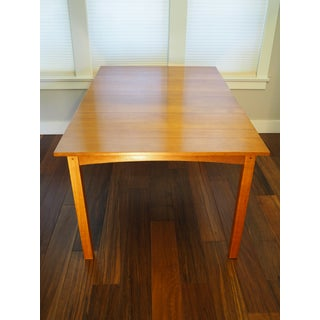 1990s Mission Stickley Solid Cherry Harvey Ellis Dining Table Preview
