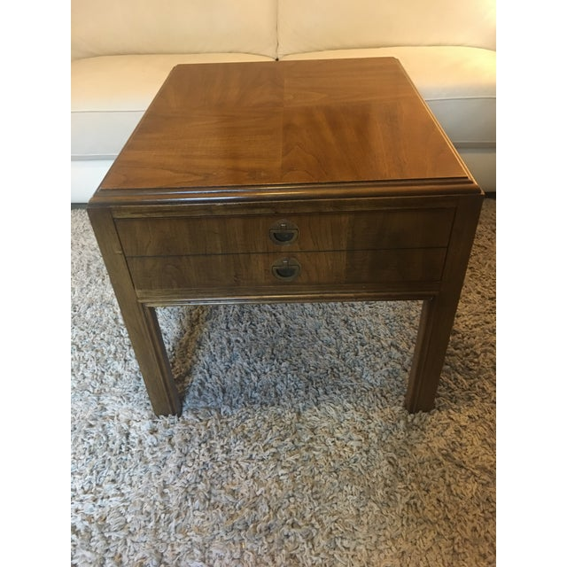 1970s Mid-Century Modern Drexel End Table For Sale - Image 9 of 9