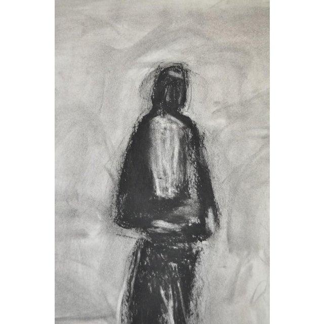 Charcoal & Pastel on Paper by Arthur J. Krakower - Image 5 of 5
