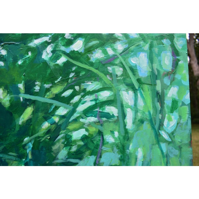 "2010s ""A Midsummer Day's Dream"" Large (32"" X 80"") Contemporary Painting by Stephen Remick For Sale - Image 5 of 11"