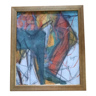 Viggiani Abstract Multimedia Painting For Sale