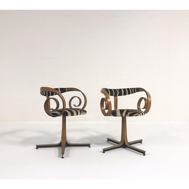 1960s Mid-Century Modern George Mulhauser for Plycraft Sultana Chairs - a Pair For Sale - Image 11 of 11