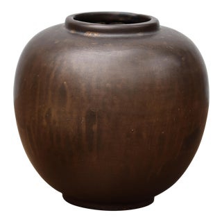 Bronze Glazed Ceramic Vase