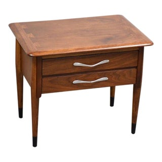 Lane Acclaim Walnut and Ash Nightstand For Sale