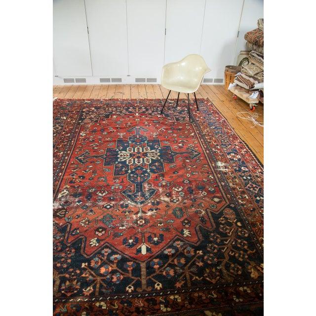 "Vintage Distressed Bakhtiari Carpet - 8'7"" X 11'8"" - Image 5 of 10"