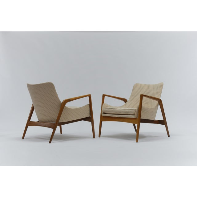 Pair of Lounge Chairs by Ib Kofod Larsen For Sale - Image 11 of 11