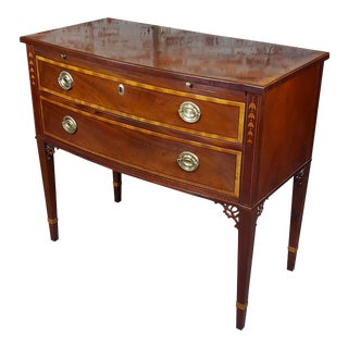 Baker Beautiful Mahogany 2 Chests of Drawers-Historic Charleston For Sale