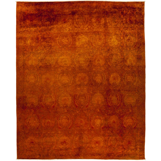"Leon, Vibrance Area Rug - 9' 1"" X 11' 5"" For Sale - Image 4 of 4"
