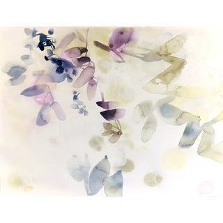 "Elise Morris ""Hazel Blaze 2"" Pastel Nature Painting on Paper For Sale"