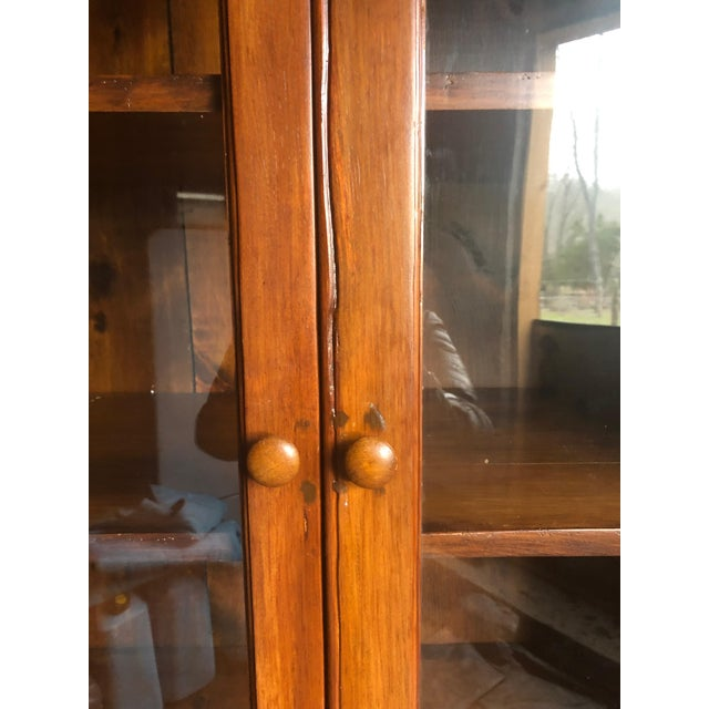 Country Kitchen Cupboard Cabinet With Lots of Storage For Sale - Image 9 of 12