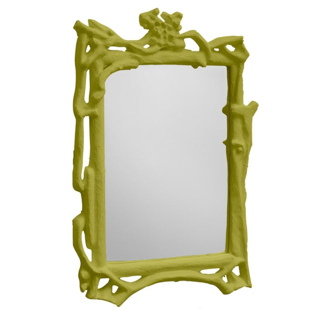 Contemporary Stray Dog Designs for Chairish Magalie Mirror, Parakeet Green For Sale - Image 3 of 3
