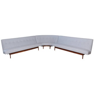 Rare Jens Risom Sectional Sofa