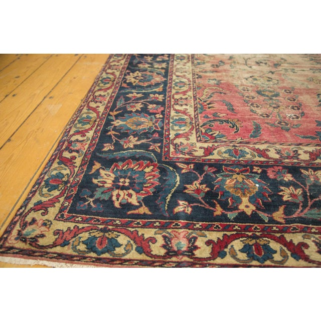 Antique Yazd Carpet - 8' x 10' - Image 7 of 10