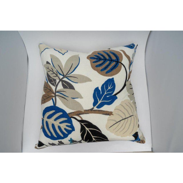 Alexander Millen Bespoke Floral Pillows - a Pair For Sale - Image 4 of 11