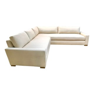 Restoration Hardware Maxwell Left-Arm Sectional For Sale