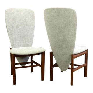 1960s Mid-Century Modern Skovby Teak Dining Chairs - Set of 4 For Sale