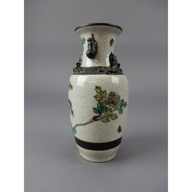 Ceramic Antique Chinese Celadon Vase For Sale - Image 7 of 11