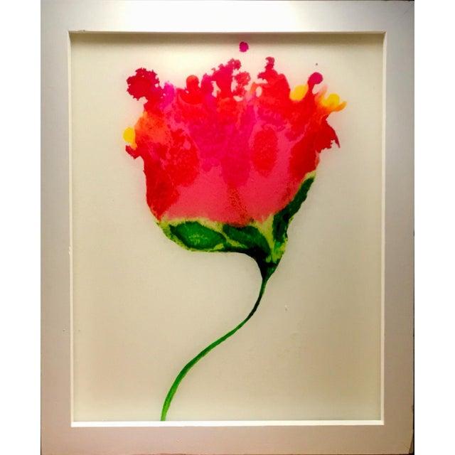 "2010s Resin Botanical Framed 9x11"" For Sale - Image 5 of 5"