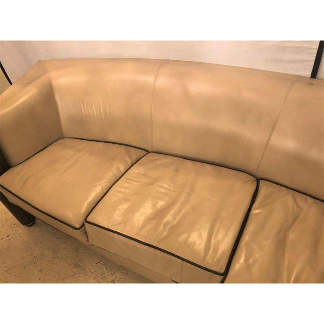 Tan I4 Marnie Sofa Designed by Adam Tihany for the Pace Collection For Sale - Image 8 of 13