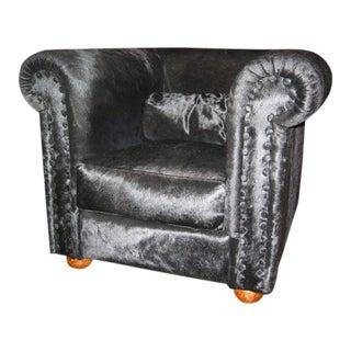Italian Pony Armchair For Sale