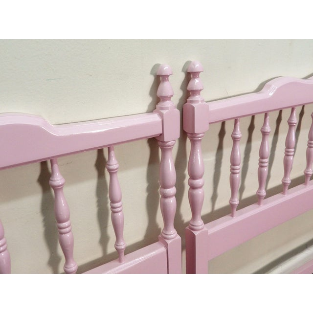 Early 20th Century 20th Century Colonial Turned Wood Twin Headboards - a Pair For Sale - Image 5 of 7