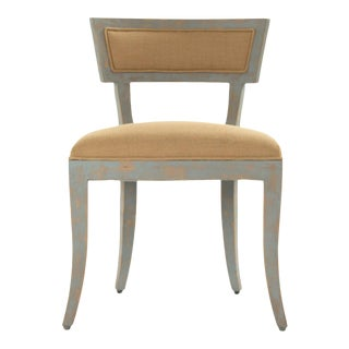Rochester Side Chair in Beige For Sale