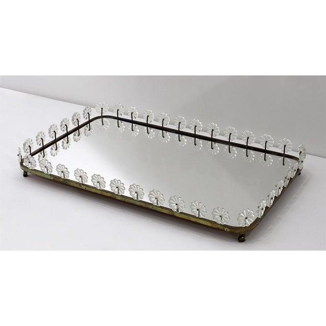 Mid-Century Modern ESTRID ERICSON Mirror Tray, Svenskt Tenn Sweden, ca 1950 For Sale - Image 3 of 3