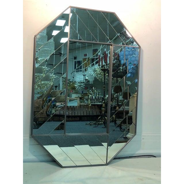 Exceptional Carvers' Guild Mirror Herringbone Design For Sale - Image 9 of 9
