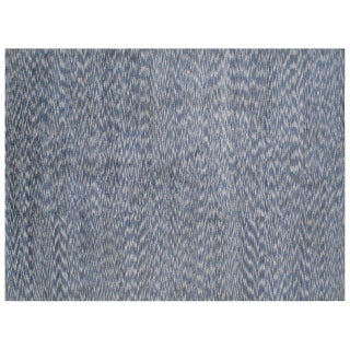 Stark Studio Rugs Contemporary Indian Hand Knotted Wool Rug - 6′ × 9′ For Sale