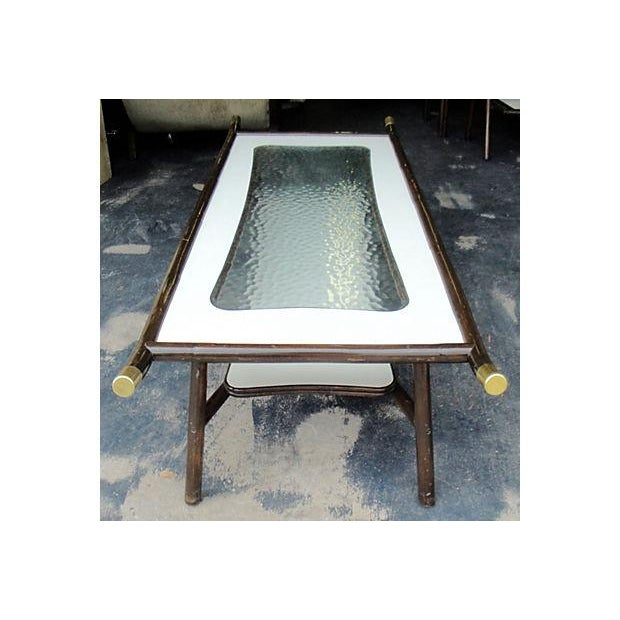 1960s Chinoiserie Mica Coffee Table For Sale - Image 7 of 7