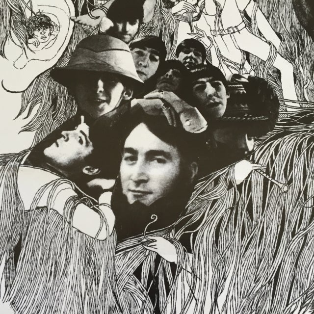"""Contemporary Vintage Beatles """"Revolver"""" Poster For Sale - Image 3 of 7"""