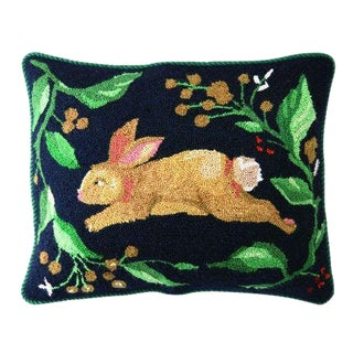 Rabbit Run Hook Pillow For Sale