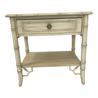 Vintage Thomasville Chinoiserie Hollywood Regency Nightstand For Sale