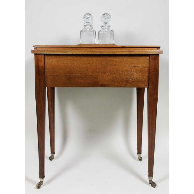 Aspreys London Mahogany Drinks Table For Sale - Image 9 of 10