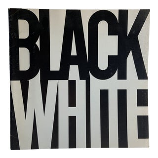 1969 Black White Exhibition of Paintings Book For Sale