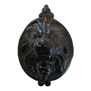1980's Vintage Resin Lion Head Wall Plaque/Sculpture For Sale