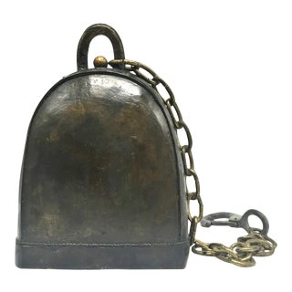 Vintage Tibetan Bronze Bell For Sale