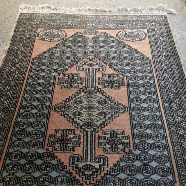 """Hand Knotted Persian Rug - 3'2'"""" X 5'4"""" - Image 5 of 6"""
