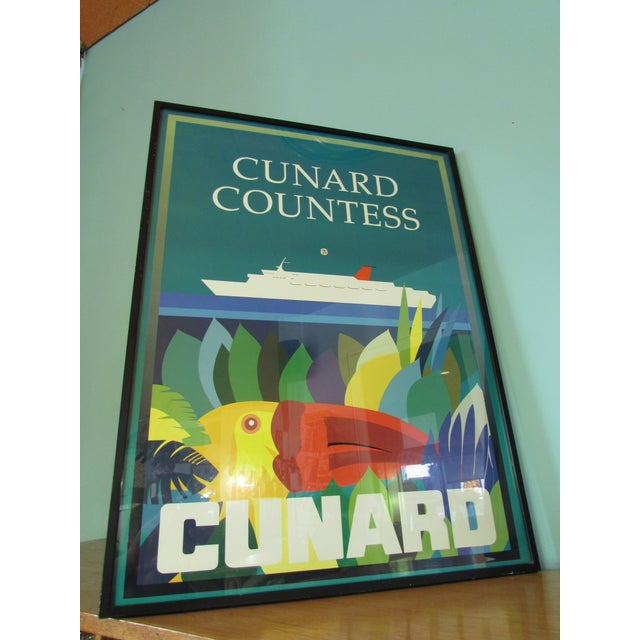 1983 Cunard Line Travel Posters - A Pair - Image 3 of 8