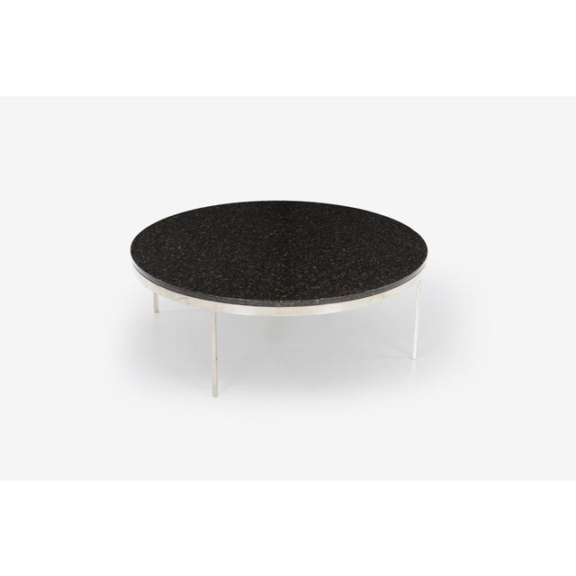 Postmodern Large Nicos Zographos Granite Coffee Table For Sale - Image 3 of 5