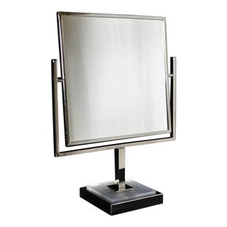 Mid-Century Modern Department Store Cosmetic Counter Mirror For Sale