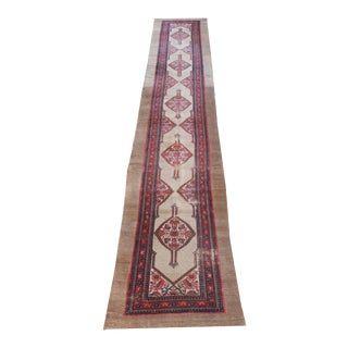 "Antique Persian Sarab Runner - 3'4"" x 19'3"" For Sale"