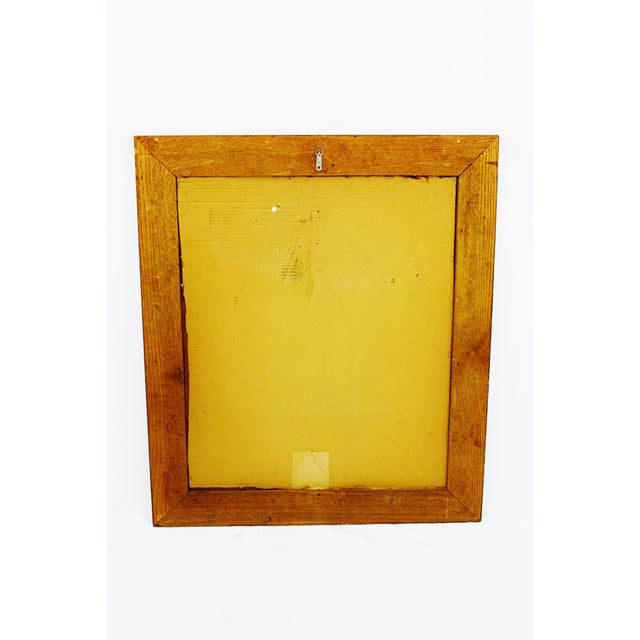 Decorative Wood Gesso Mirror - Image 10 of 11