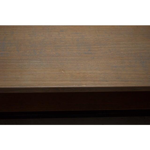 Industrial Chic Wood & Metal Coffee Table - Image 5 of 7